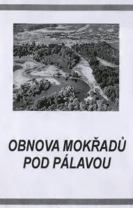 Přebal pořadu: Obnova mokřadů pod Pálavou